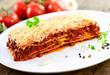Teller, Lasagne