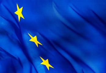 Fragment of   European Union flag
