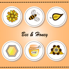 Labels Bee&Honey