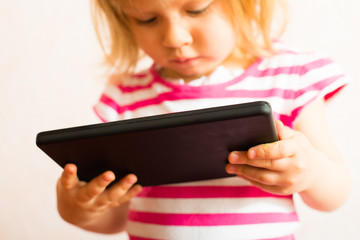 Learning with Touch Screen Tablet
