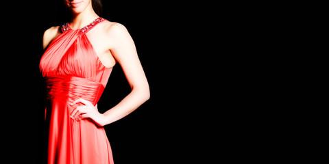 eleganza in rosso - elegance in red