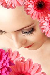 Female false extralong eye lashes