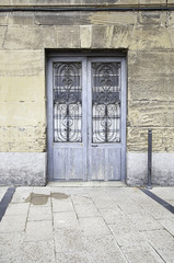 Blue Door at the monument