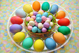 Easter Eggs with Confections poster