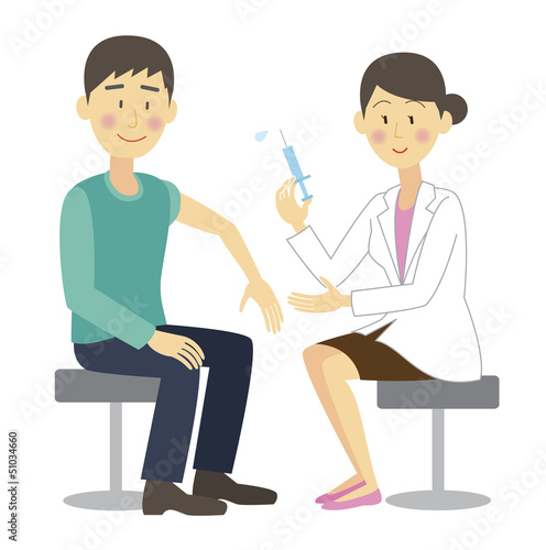 Young man to be vaccinated