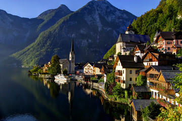 Sunrise at Hallstatt