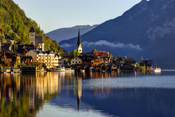 Sunrise in Hallstatt