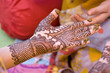 henna ,saree, wedding, bride ,Rajasthan, India