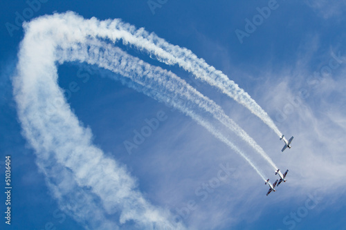 Fototapeta aerei acrobatici