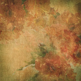 Fototapety Vintage background with flowers (roses)