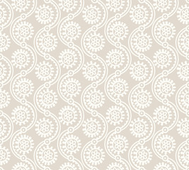 Seamless abstract flower wallpaper