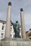 Statua dedicata ad Adelaide Ristori, Cividale del Friuli poster