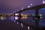 Southampton's Itchen Bridge at Night