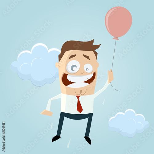 ballon fliegen