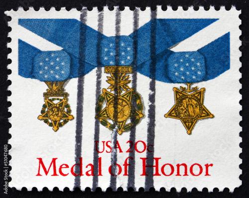Postage stamp USA 1983 Medal of Honor