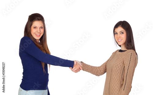 Agreement between friends