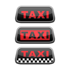 red taxi shield