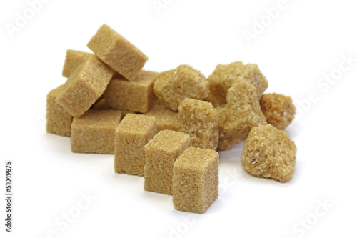 morceaux de sucre roux