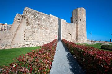 Roman wall of Tarragona.Spain