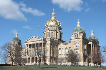 Iowa State Capitol-Des Moines Iowa