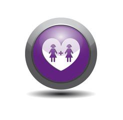 icône mariage lesbien