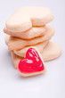 homemade sweet heart cookies