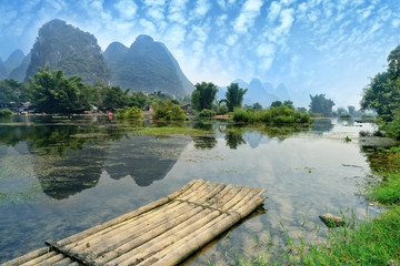 natural scenery in Guilin, China © xiaoliangge