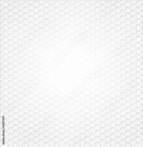Hexagon pattern textured for technology white background.