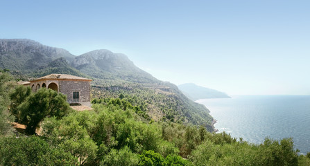 Beautiful view on the Son Marroig estate