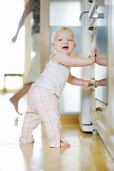 Adorable baby girl