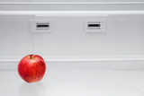 Apple in a refrigerator