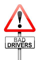 Bad driver alert.