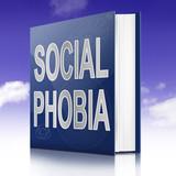 Social Phobia concept. poster