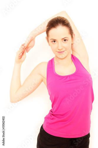 sportliches Mädchen