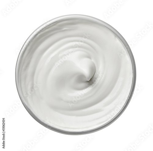 white beauty cream cosmetics yoghurt mil diary