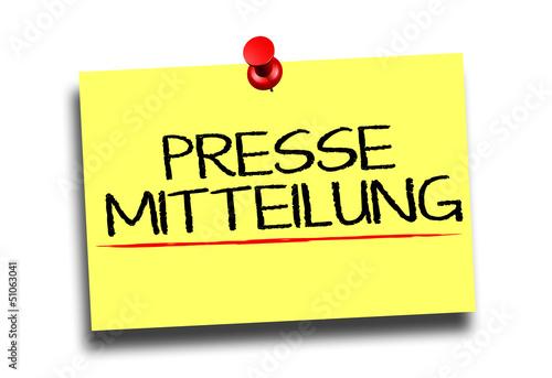 Pressmitteilung