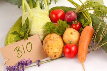 Bio Gemüse ©yvonneweis