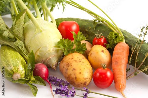 Frisches Gemüse ©yvonneweis