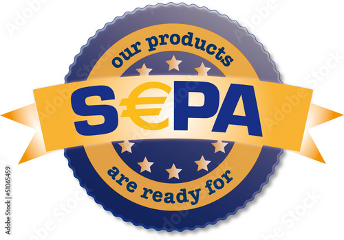 "Siegel ""products ready for SEPA"""