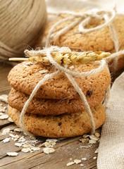 natural homemade oatmeal cookies