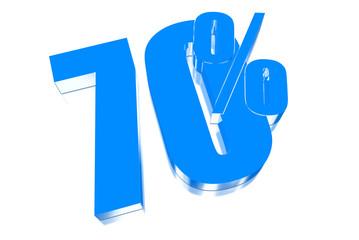70 percent discount on three-dimensional