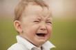little crying boy portrait