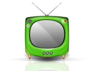 retro tv verte