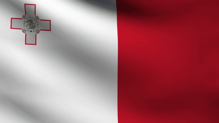 Malta flag.