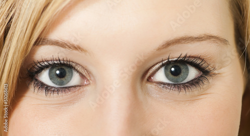 canvas print picture Eyes - Augen
