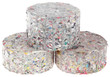 Paper Log Briquettes Cutout