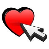Heart and Cursor