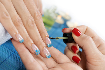 Manicure treatment