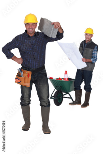 Construction team