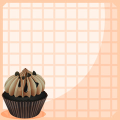 A stationery with a mouth-watering cupcake